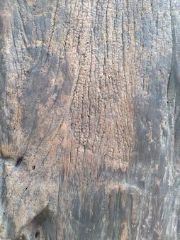 Piso de madeira velho marrom escuro