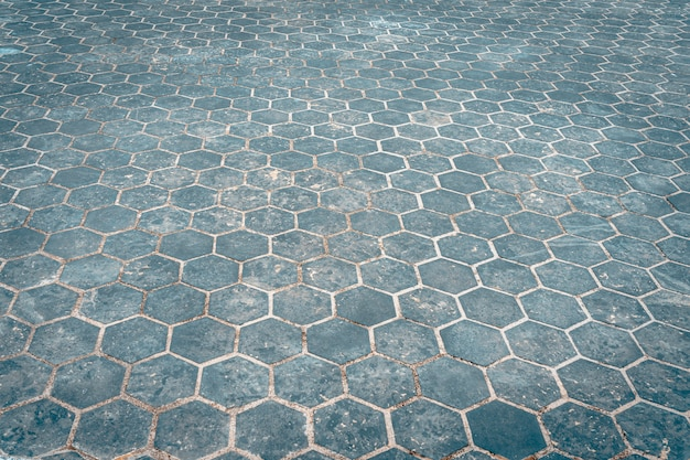 Piso de pedra do bloco de pedra ao ar livre e textura