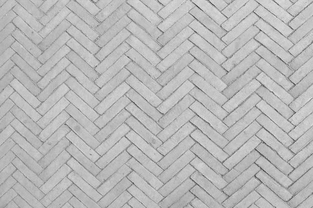 Piso de tijolos geométricos