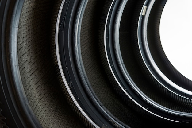 Piso direcional de borracha para pneus de inverno, rodas para carros
