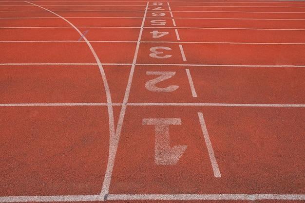 Pista de atleta ou pista de corrida