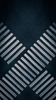 Pistas de cruzamento de duas faixas de pedestres no cruzamento na vista aérea superior da cidade atirou em ...