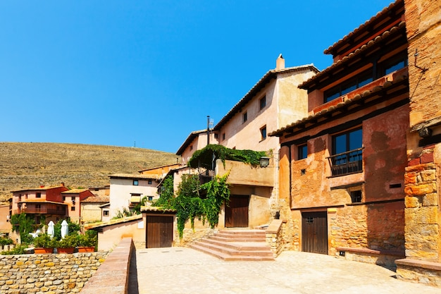 Pitoresca cidade espanhola. albarracín