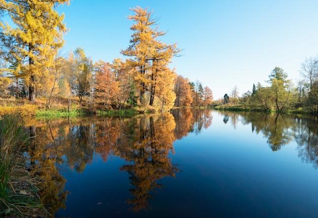 Pitoresca paisagem de outono.