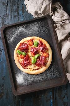 Pizza com bresaola