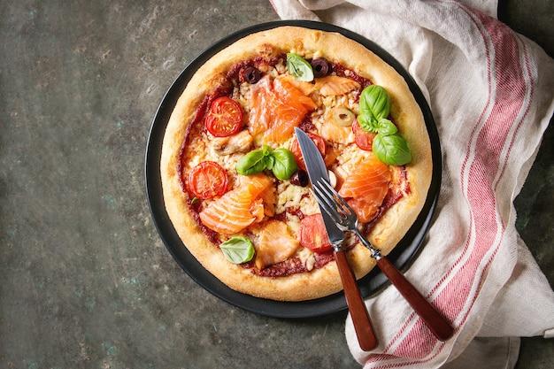 Pizza com sa