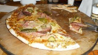 Pizza mais delicioso em veliko tarnovo