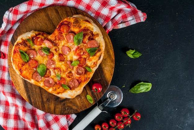 Pizza no dia dos namorados