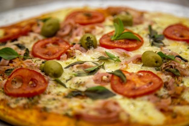 Pizza rústica brasil