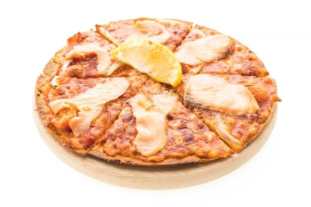 Pizza salmão fumado
