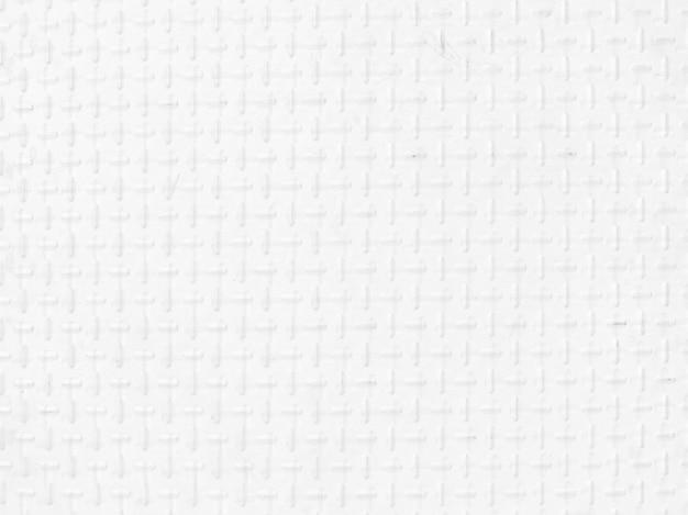 Placa de alumínio branco com formas geométricas