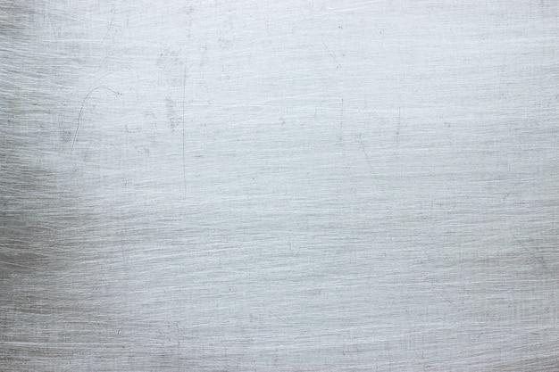 Placa de alumínio como pano de fundo, textura de metal com arranh
