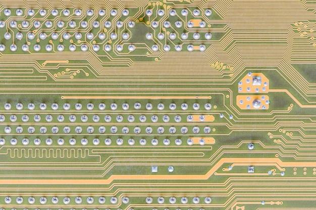 Placa de circuito integrado no computador
