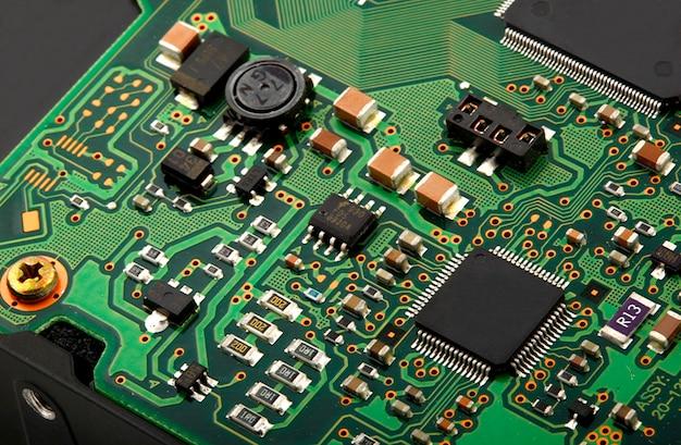 Placa de circuito micro computador