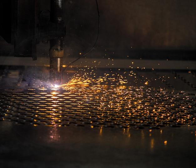 Placa de corte a laser máquina cnc faísca