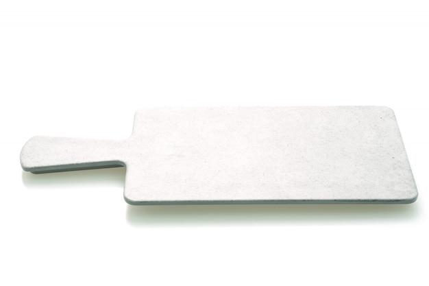 Placa de corte cinza vazia