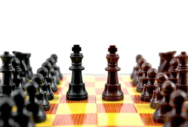 Placa de luta próxima estratégia preso