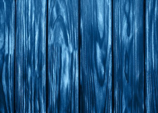 Placa de madeira azul clássica antiga