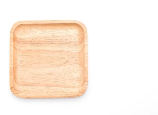 Placa de madeira em branco