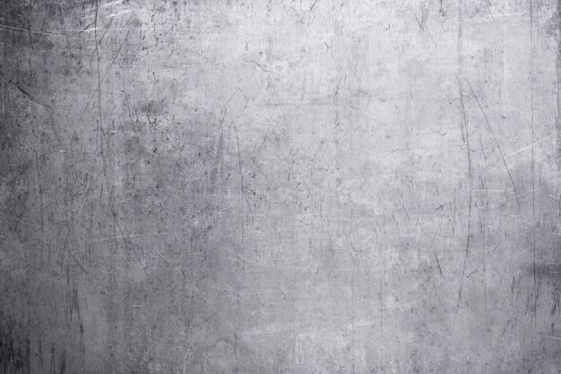 Placa de metal antiga, a textura do close-up de aço