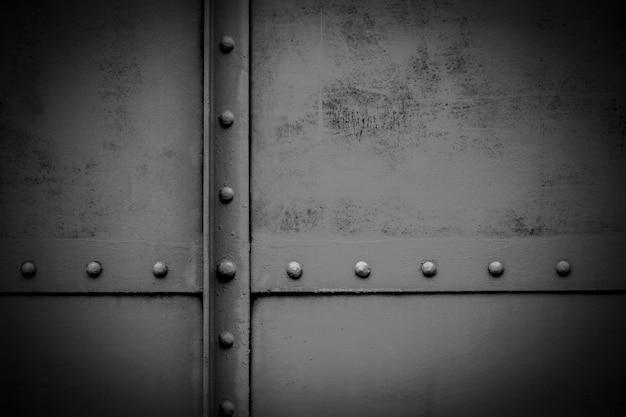 Placa de metal velha - fundo