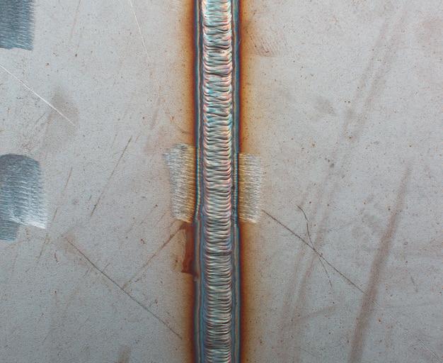 Placa de solda de aço inoxidável por processo de argônio