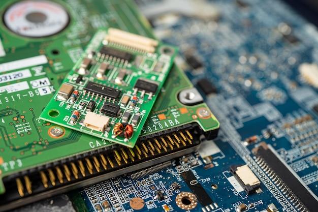 Placa-mãe do circuito do computador