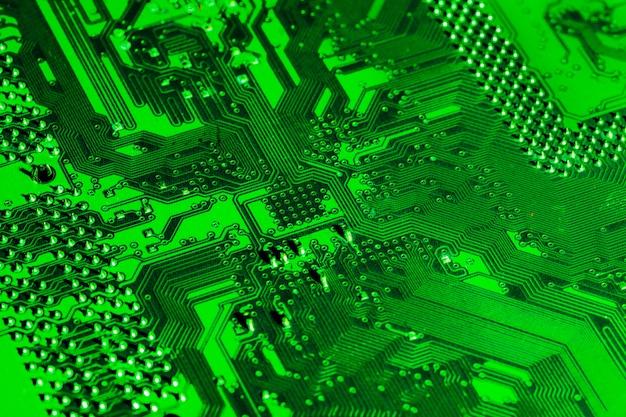 Placa mãe do computador. peças do computador