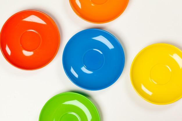 Placas coloridas