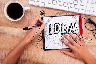Planear e escrever sobre mídia social