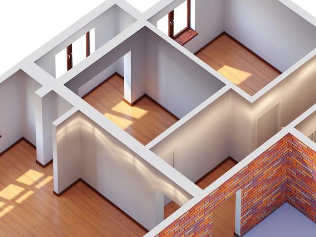 Planejamento interior da casa