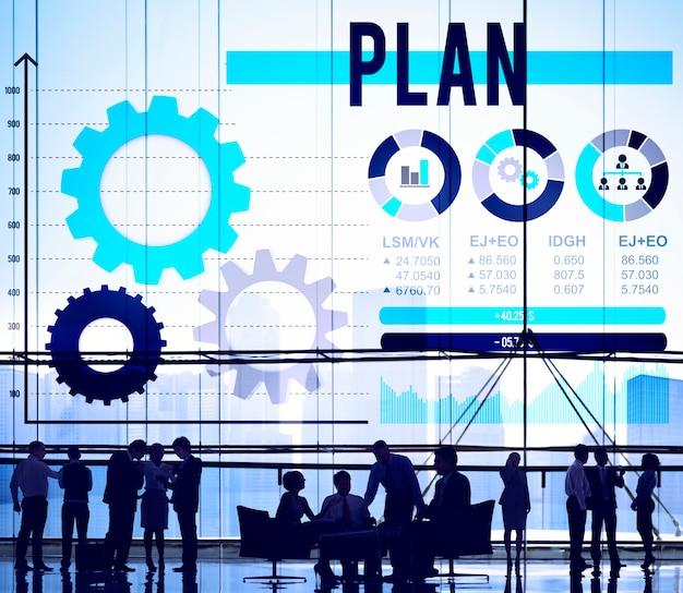 Planejar o conceito de solução de processo de diretrizes de planejamento