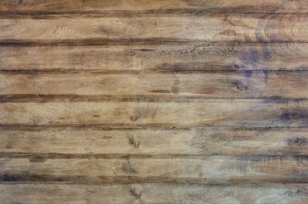 Planked rubber wood wall texture background
