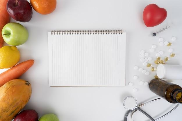 Plano de dieta saudável plano de dieta plano de dieta de perda de peso