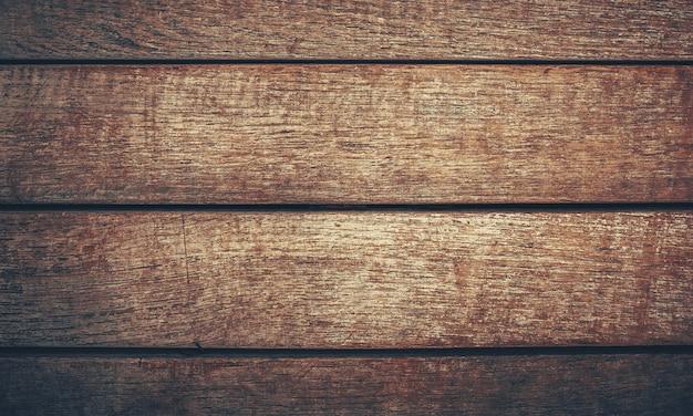 Plano de fundo antigo de madeira vintage com tábuas