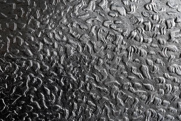 Plano de fundo cinza metálico close-up