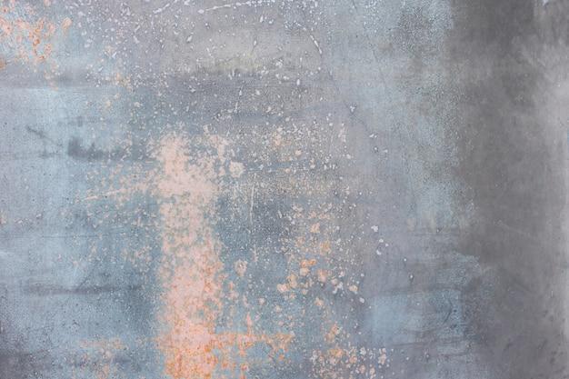 Plano de fundo cinza rusty metal texturizado. copie o espaço para designers.