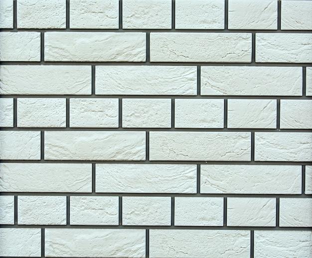 Plano de fundo de ladrilhos de pedra cinzenta decorativos naturais, parede de tijolo de mármore