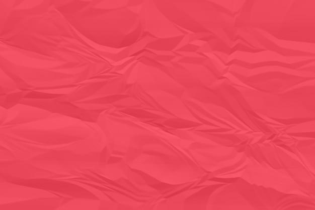 Plano de fundo de papel vermelho amassado