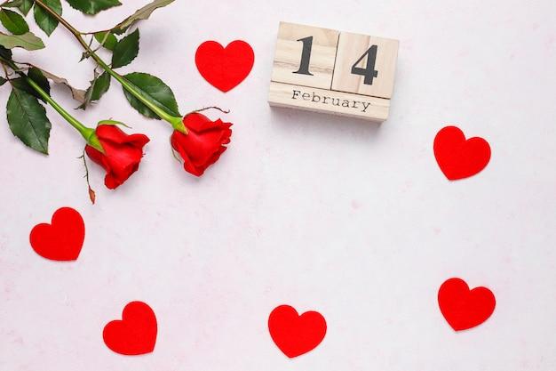 Plano de fundo dia dos namorados, cartão de dia dos namorados com rosas