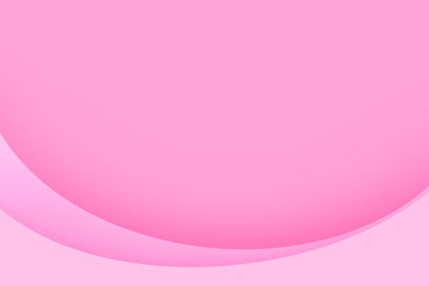 Plano de fundo dia dos namorados com fundo abstrato rosa do círculo da camada de papel.