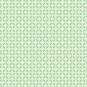 Plano de fundo ilustrado sem costura de padrão oriental verde