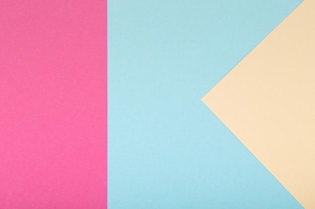 Plano de fundo multicolorido de um papelão de cores diferentes