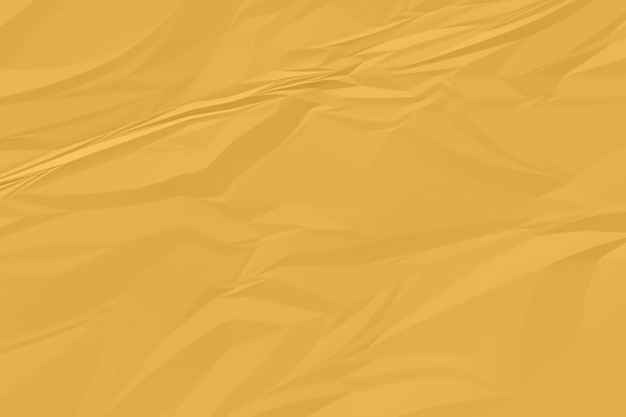 Plano de fundo papel amassado laranja acima