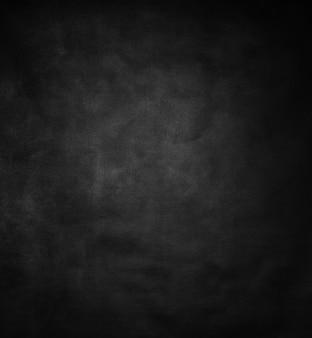 Plano de fundo preto texturizado feito de tela de tecido