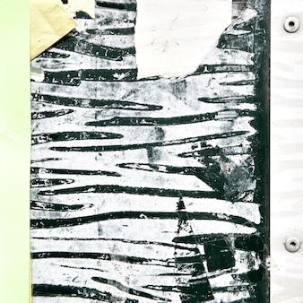 Plano de fundo texturizado com cartazes rasgados
