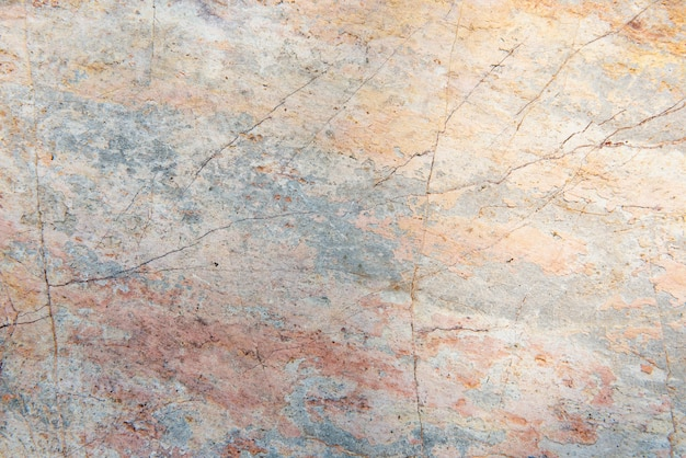 Plano de fundo texturizado de cimento de cor pastel rachado