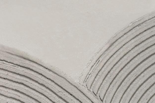 Plano de fundo texturizado de concreto com padrão de curva cinza
