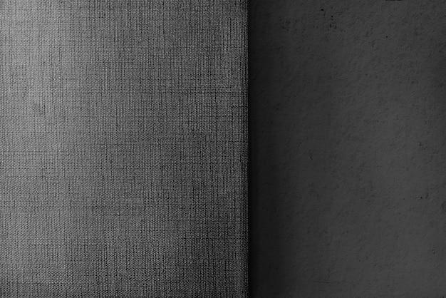 Plano de fundo texturizado de concreto e tela cinza