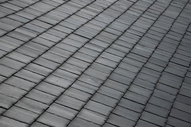 Plano de fundo texturizado de ladrilhos quadrados cinza